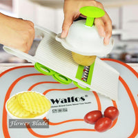 Vegetable Slicer/Grater with 5 Blades