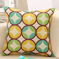 Mediterranean Style Throw Pillow Cushion Cover