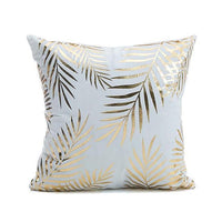 Bronzing Printed  Cushion Cover Pillow Cases