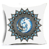 Mandala Cushion Cover Geometric Pillow Cases