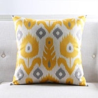 Abstract Geometric Printed Cushion Cover
