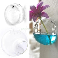 Wall Hang Glass Planter Vase