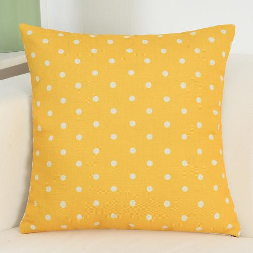 Animal Printed Yellow Throw Pillow/Cushion Covers