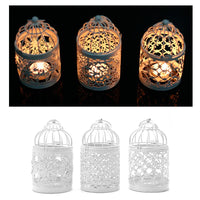 Hanging Bird Cage Candle Holder