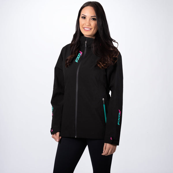 Women's Vertical Edge Tri-Laminate Jacket