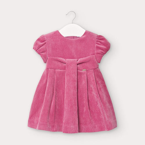 Pink Micro Corduroy Dress