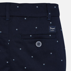 Navy Detail Shorts