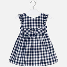 Load image into Gallery viewer, Navy Gingham Dress