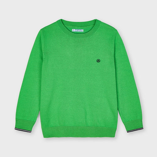 Basic Crew Neck Sweater Matcha