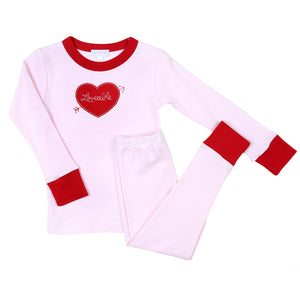 Loveable Applique Pajamas