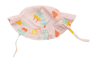 Cool Sweets Ruffle Sun Hat