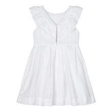 Load image into Gallery viewer, Eyelet Poplin Dress
