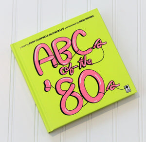 ABC of the 80s Board Book