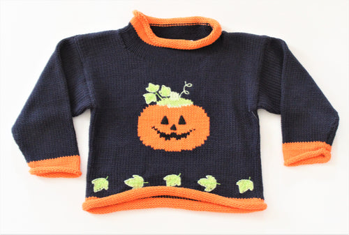 Pumpkin Roll Neck Sweater
