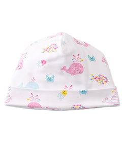 Whale of Time Hat Pink