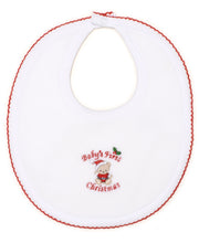 Load image into Gallery viewer, Baby First Christmas Bib