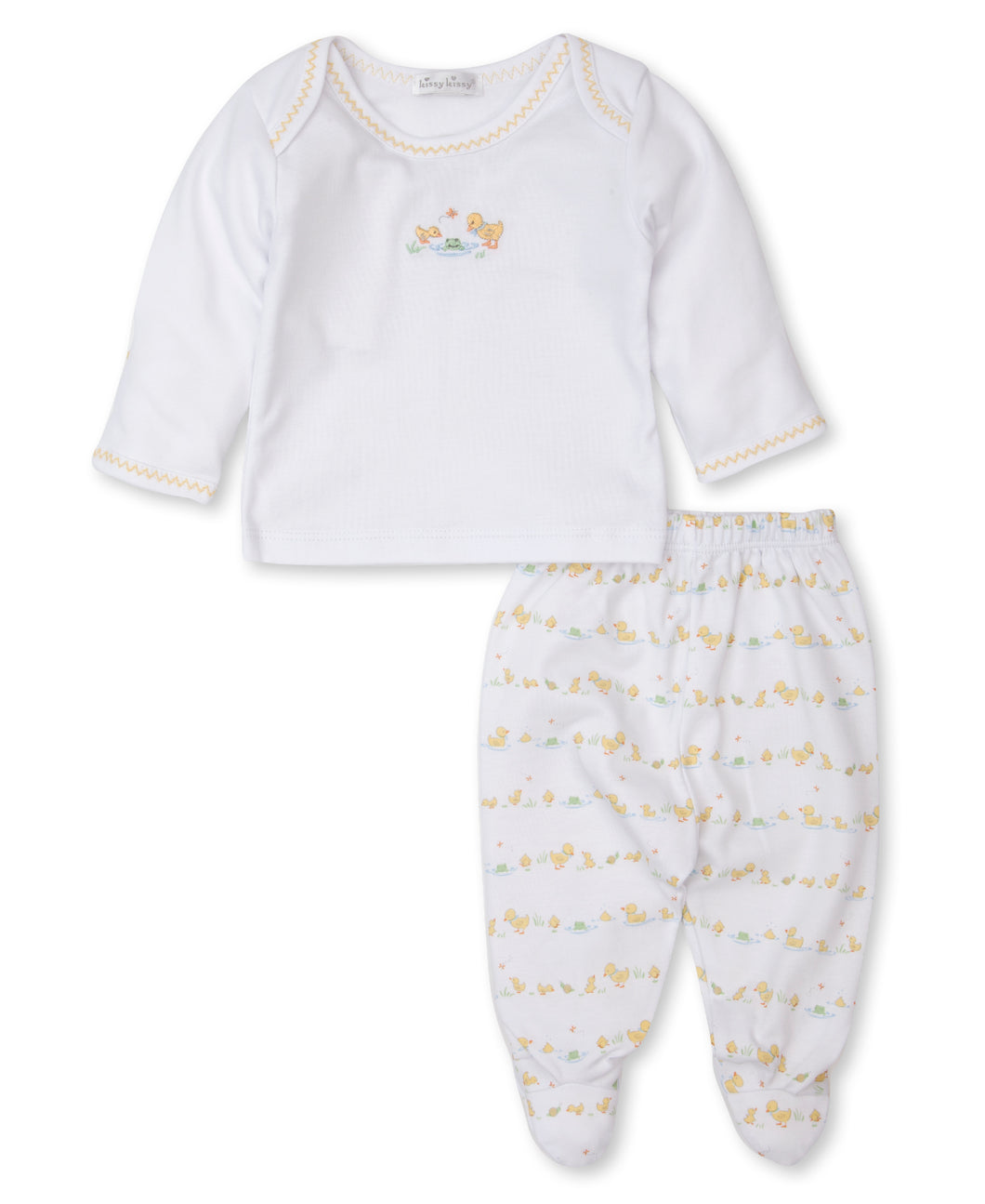 Dilly Dally Duckies Pant Set