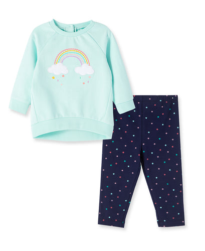 Rainbow 2 Piece Sweatshirt Set