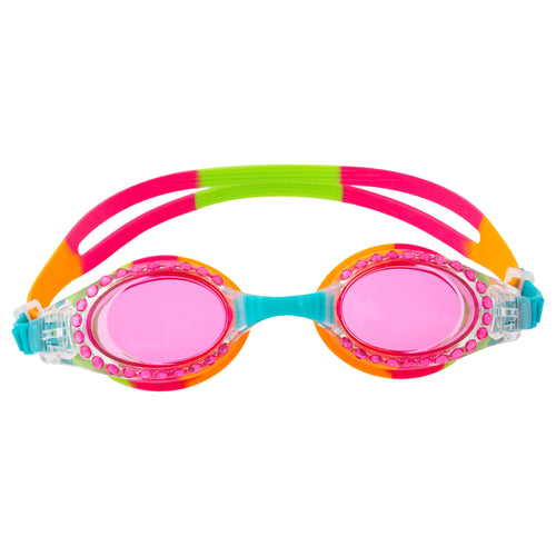 Rainbow Sparkle Swim Goggles