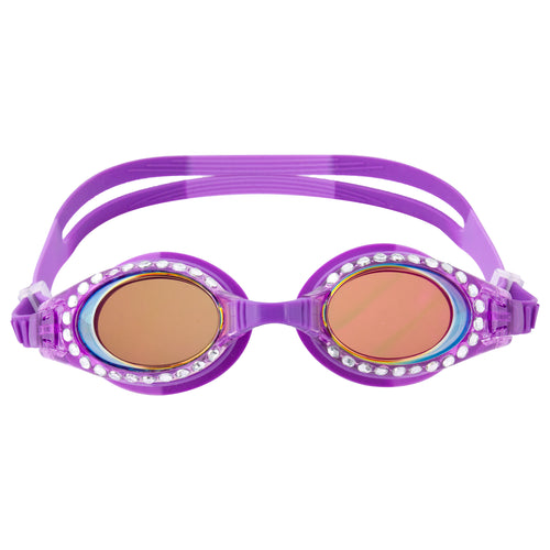 Purple Sparkle Swim Goggles