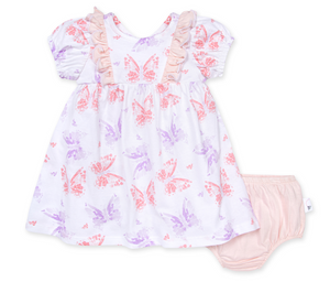 Butterfly Buddies Dress & Diaper Cover
