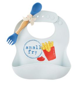 Fries Silicone Bib