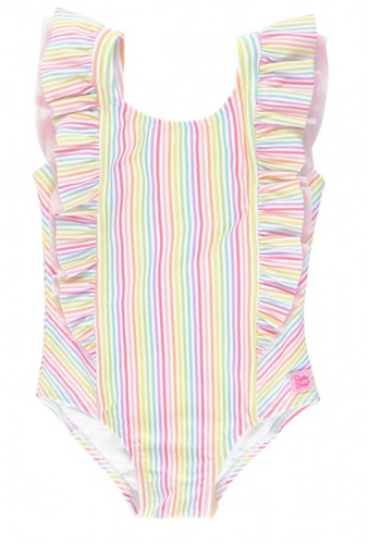 Rainbow Stripe One Piece