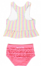 Load image into Gallery viewer, Rainbow Stripe Tankini