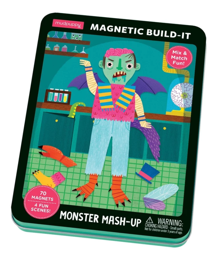 Monster Mash Up Magnetic  Build Kit