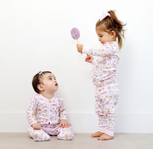 Load image into Gallery viewer, Pink Lollipop Pajamas