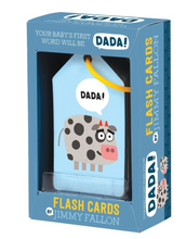 Load image into Gallery viewer, Jimmy Fallon: Your Baby's 1st Word - Dada Flash Cards