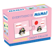 Load image into Gallery viewer, Jimmy Fallon: Your Baby's 1st Word - Mama Puzzle Pairs