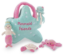 Load image into Gallery viewer, Mermaid Friends Plush Set