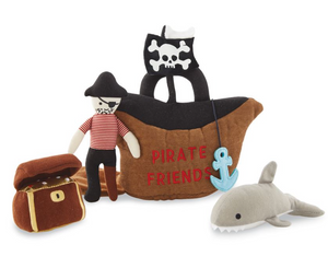 Pirate Friends Plush Set