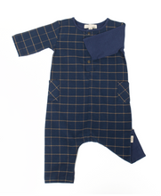 Load image into Gallery viewer, Organic Flannel Romper