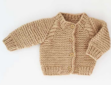 Load image into Gallery viewer, Latte Cardigan Sweater