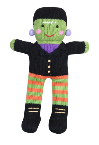 Frankenstein Crocheted Doll