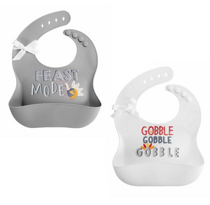 Thanksgiving Silicone Bibs
