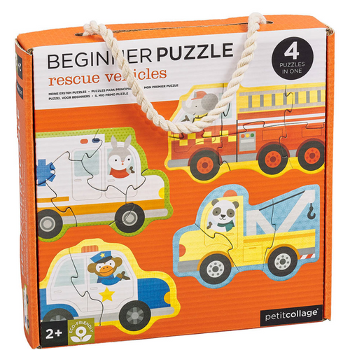 Rescue Vehicles Beginner Buzzle