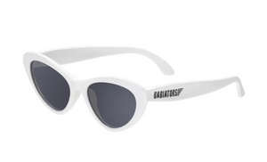 Babiators Wicked White Cat Eye Sunglasses