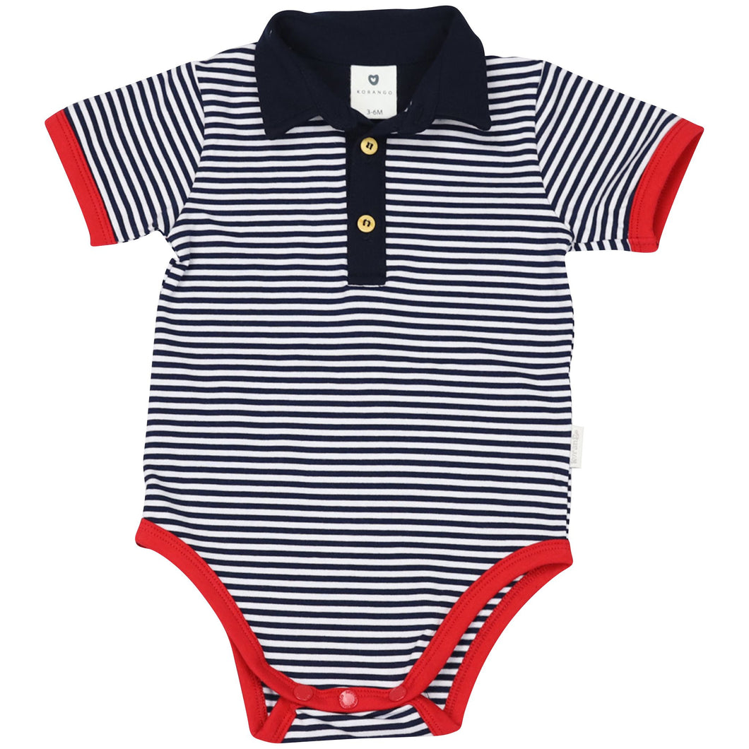 Nautical Stripe Bodysuit