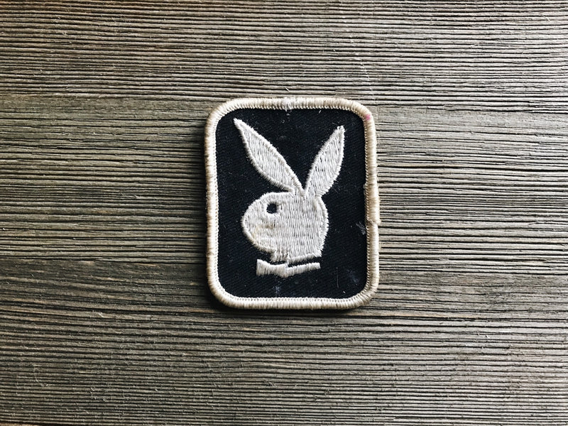 Collectible vintage playboy patch