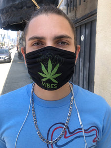 Mask - Poly Spandex Washable 420 Vibes Print