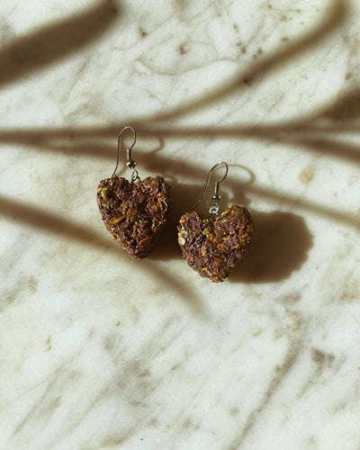 KannaBling - Earring Heart Shape Fishhooks For sale