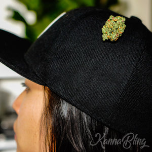 Cannabis Marijuana Weed Hat Pins