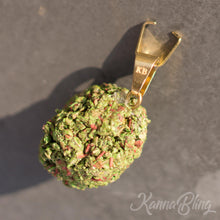 Load image into Gallery viewer, KannaBling - Marijuana Weed Pendant & Bail