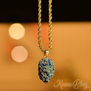 Marijuana Cannabis Weed Necklace Jewelry
