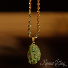 Load image into Gallery viewer, Marijuana Pendant Necklace