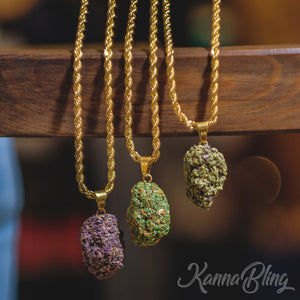 Weed Marijuana Cannabis Necklace Jewelry