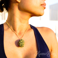Load image into Gallery viewer, Marijuana Cannabis Weed Necklace Jewelry